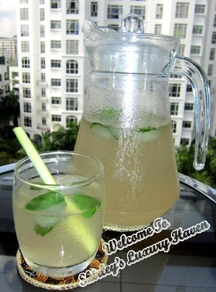 Aromatic Lemongrass Mint Tea
