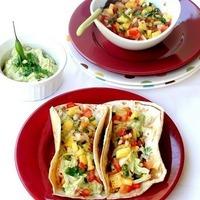 Hawaiian Pineapple Salsa & Veggie Tacos