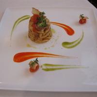 I cavatelli di Calabria con salsiccia al finocchietto selvatico e crema di peperoni