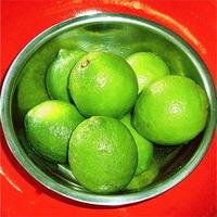 Blueberries with Lime Sugar & Citrus Confit