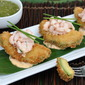 Fried Avocado with Spicy Shrimp Salad Recipe—Paula Deen, This One's for You!