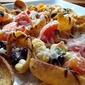 "Corn and Black Bean Salsa ""Nachos"""