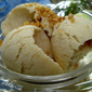 Banana in brown sugar ice cream