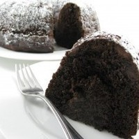 Double Dark Chocolate Chip Bundt Cake…Simple, Skinny and Delicious