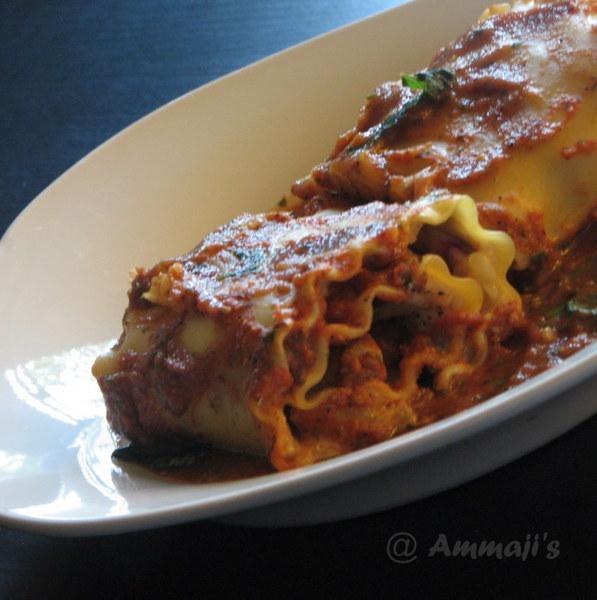 Tomato Basil Lasagna