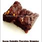 Vegan Pumpkin Chocolate Brownies