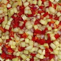 Cucumber & Tomato Condiment