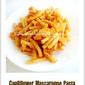 Cauliflower Mascarpone Pasta