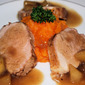Pork Tenderloin with an Apple Fume Blanc Sauce