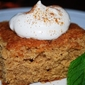 Spice Cake with Whipped Cream
