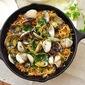 Espaguetis Con Almejas~ Spaghetti and Clams In A Skillet