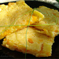 Pumpkin flat bread