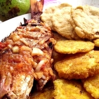 "Deep fried fish ""Boca Chica"" Style"