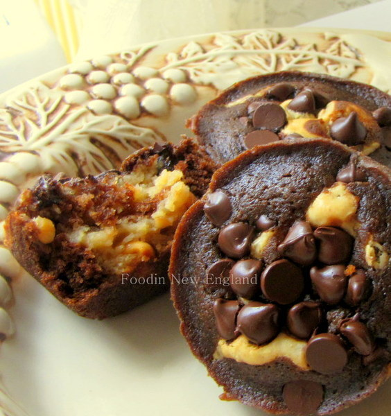 Chocolate-Peanut Butter Layer Cupcakes Recipe by ...