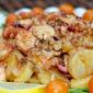 warm octopus, paprika and potato salad