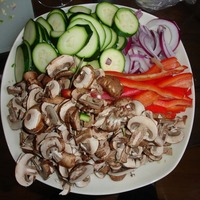 Healthy Veggie Fajitas