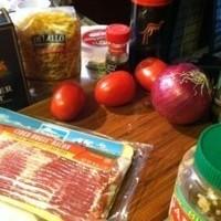 Gourmet Italian Recipes: Tomato Bacon Pasta