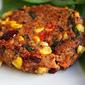 Savory, sweet, and smoky veggie burger