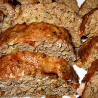 Savory Meatloaf with Zucchini