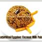 Kathirikkai/Eggplant Coconut Milk Pulao