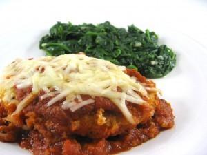 how to make chicken schnitzel parmigiana