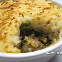 Shepherd's Pie (A touch of Oriental Taste)