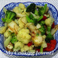 My Cooking Journal 24 - Stir Fry Broccoli and Cauliflower with Fish Cake