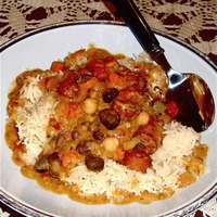 Leftover 2-Bean Stew