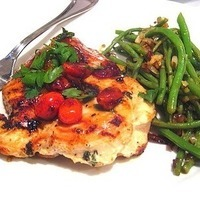 What's for Dinner? Chicken w/ Cherry Tomato Pan Sauce