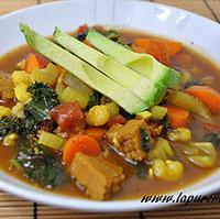 Veggie Hominy Stew