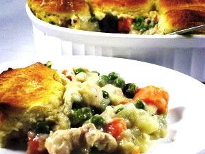 Chicken Pot Pie Skinny-fied!