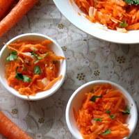 Kosambari / Indian version of carrot salad