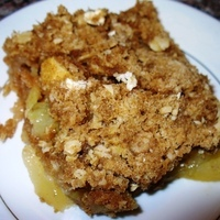 Apple Crisp – Microwave Quick!