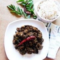 Beef Ularthiyathu / Slow Roasted Beef Fry....step by step pics