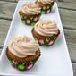 Pumpkin Cupcakes with Cinnamon Spiced Buttercream