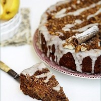 Baking| Classic Spiced Apple Walnut Buttermilk Coffee Cake – R'ock-tober #baketogether