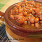 Crock Pot Apple Cider Baked Beans