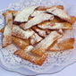 Powdered Sugar Wands (Galani) from Veneto