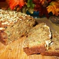 Zucchini Golden Raisin and Sunflower Seeds Bread