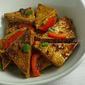 Pan-fried Tofu with Dark Sweet Soy Sauce