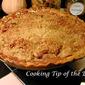 Recipe: Apple Crumb Pie