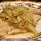 Filetti di pesce al finocchio (Fish Fillets with Braised Fennel)