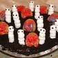 Halloween Food Recipes and Graveyard Ghost Dirt Pie