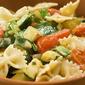 Bowties with Zucchini in creamy wine sauce