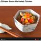 Glittering Chinese Sauce Marinated Chicken - Video Recipe