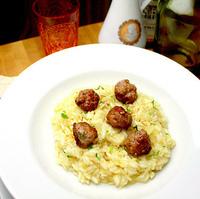 Risotto di Polpette di Salsicce al Finocchio: Playing with your Sausage…