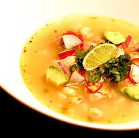 Hearty Chicken Pozole Soup