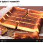 Japanese Baked Cheesecake - Video Recipe