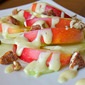 Kohlrabi and Apple Salad with Creamy Mustard Dressing
