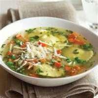 Grandmother's Handkerchief & Sausage Soup (Fazzoletto di nonna e la zuppa di salsiccia)